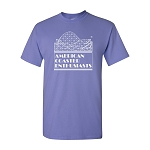 Cotton Tee with ACE Logo - Violet