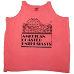 Ladies Cotton Tank Top with ACE Logo - Watermelon