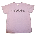 Ladies Cotton Tee with ACE Shadow Logo - Orchid