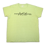 Ladies Cotton Tee with ACE Shadow Logo - Pistachio