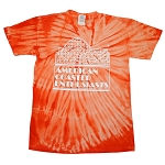 Sundog Tie Dye with ACE Logo - Orange