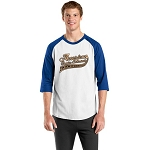 Colorblock Raglan Jersey - White/Royal