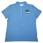 Ladies 100% Cotton Pique Polo - Bimini Blue