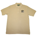 6.8 oz Cotton Pique Basic Polo - Putty