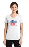 ACE Performance Ladies Tee White