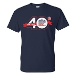 40th Anniversary T-Shirt -- Navy