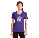 ACE Performance Ladies Tee Purple