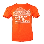 Youth Cotton Tee with White ACE Logo - Orange