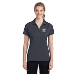 Sport-Tek Ladies PosiCharge RacerMesh Polo with New Logo -- Graphite Grey