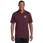 Sport-Tek PosiCharge RacerMesh Polo with New Logo -- Maroon