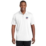 Sport-Tek PosiCharge RacerMesh Polo with New Logo -- White