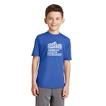 Port & Company Youth Performance Blend Tee with New ACE Logo - Royal
