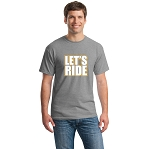 ACE Let's Ride Tee Grey