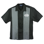 ACE Retro Camp Shirt -- Black/Steel