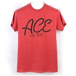 ACE Established Tee - Heather Red