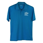 Sport-Tek PosiCharge RacerMesh Polo with New Logo -- Pond Blue