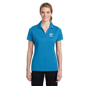 Sport-Tek Ladies PosiCharge RacerMesh Polo with New Logo -- Pond Blue