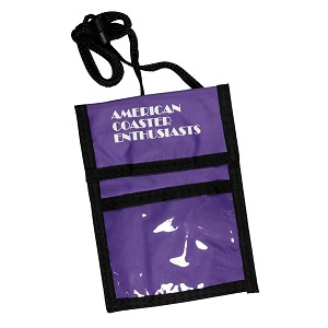 ACE Badge Holder - Purple