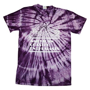 Sundog Tie Dye with ACE Logo - Purple