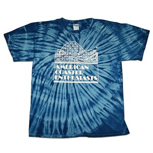 Sundog Tie Dye with ACE Logo - Royal
